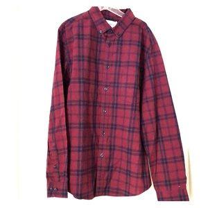 NWT Goodfellow (Target) button front shirt size L